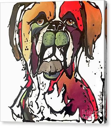 Daisy Canvas Print by Nicole Gaitan