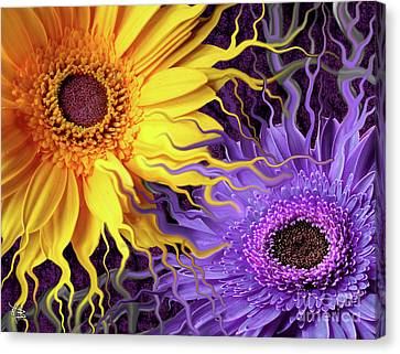 Daisy Yin Daisy Yang Canvas Print by Christopher Beikmann