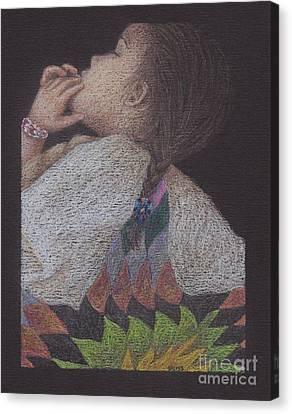 Dakota Babe Canvas Print
