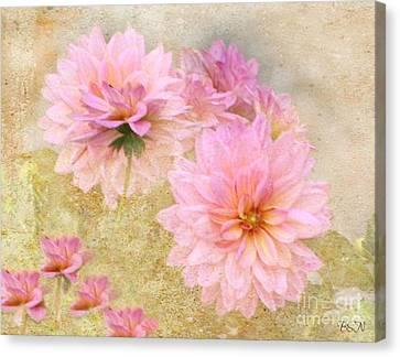Dahlia Days Canvas Print