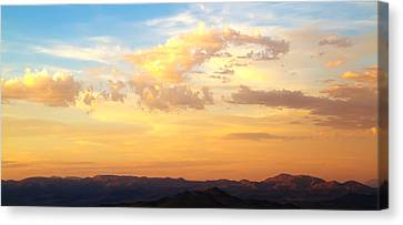 Dali's Sky Canvas Print by Mike Hill