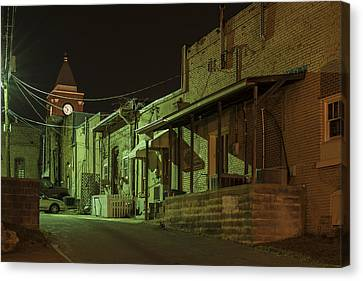 Dallas Alley Canvas Print by Robert Myers