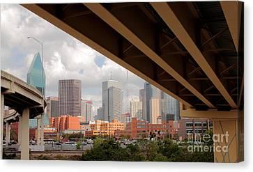 Dallas Backside Canvas Print by Robert Frederick