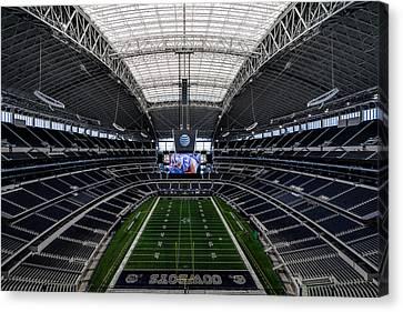 Dallas Cowboys Stadium End Zone Canvas Print