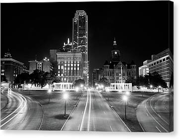 Dallas Dealey Plaza 11317 Canvas Print