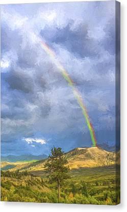 Dallas Divide Rainbow II Canvas Print