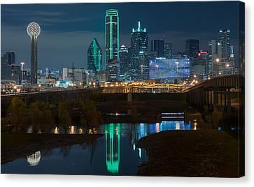 Dallas Reflection  Canvas Print