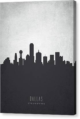 Dallas Texas Cityscape 19 Canvas Print by Aged Pixel
