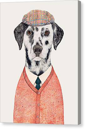 Dalmatian Canvas Print by Animal Crew