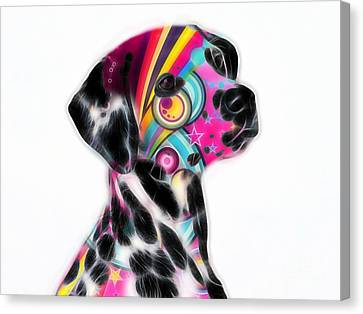 Dalmation Collection Canvas Print by Marvin Blaine