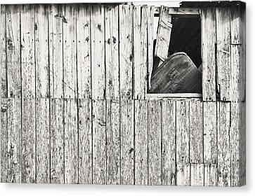 Damaged Hut Canvas Print by Tom Gowanlock