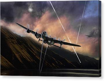 Dambusters   Canvas Print by Peter Chilelli