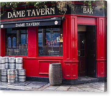 Dame Tavern Canvas Print by Rae Tucker