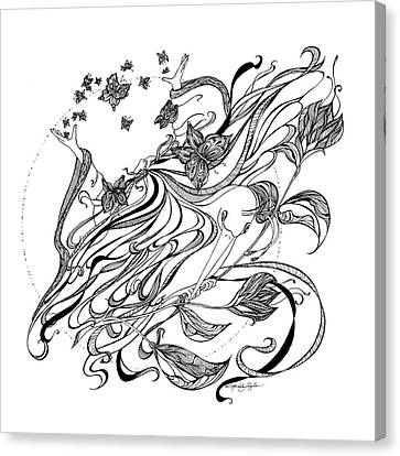 Damia Canvas Print