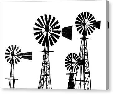 Dan Cyn's Windmill Museum Canvas Print by Gary Warnimont