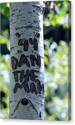 Dan The Man Canvas Print by Eric Tressler
