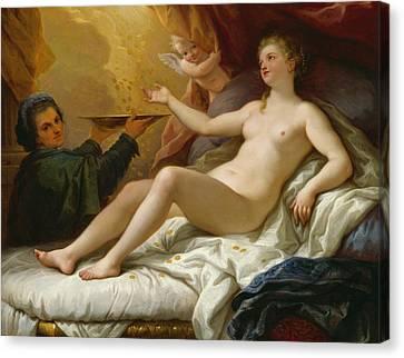 Danae Canvas Print by Paolo di Matteis