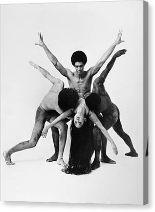 Dance: Alvin Ailey Canvas Print by Granger