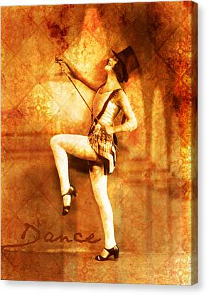 Dance Canvas Print by Cathie Tyler