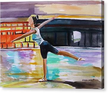 Dance Class Canvas Print by John Williams