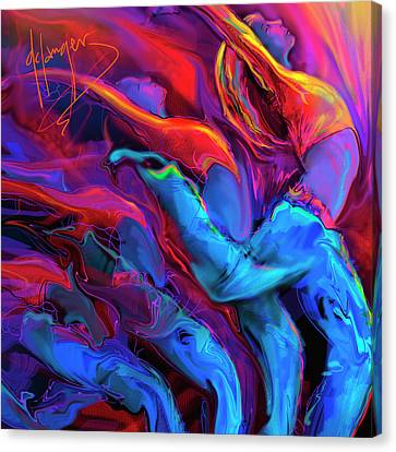 Dance, Dance, Dance Canvas Print by DC Langer