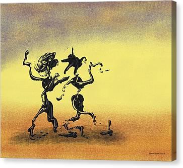 Dance I Canvas Print by Manuel Sueess
