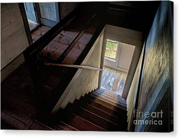 Dance In The Stairway Canvas Print
