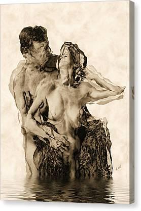 Dance Canvas Print by Kurt Van Wagner