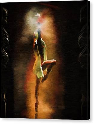 Dance Macabre Canvas Print by Bob Orsillo