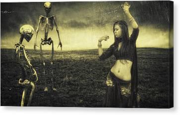 Dance Macabre II Canvas Print