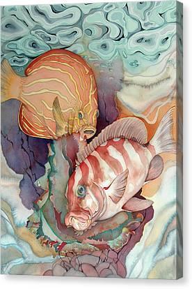 Dance Macabre Canvas Print by Liduine Bekman