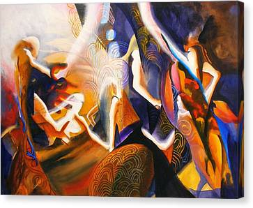 Dance Of The Druids Canvas Print