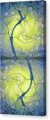 Dance Of The Winter Trees Canvas Print