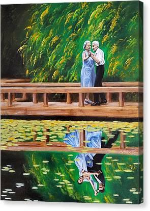 Dance Reflection Canvas Print