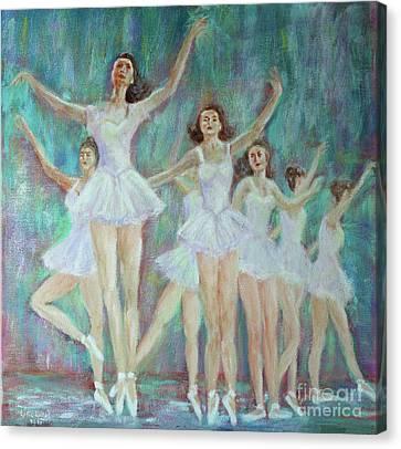 Dance Rehearsal Canvas Print