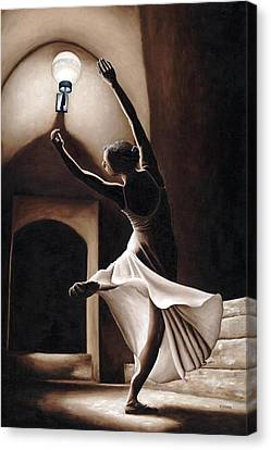 Stretched Canvas Print - Dance Seclusion by Richard Young