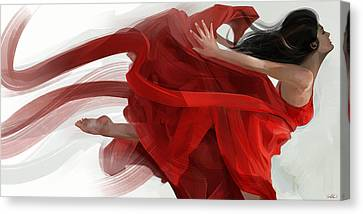 Dance Canvas Print by Steve Goad