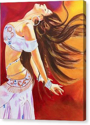 Dance To Be Free Canvas Print by Yvonne Payne