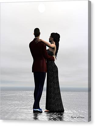 Dance With Me Canvas Print by Jayne Wilson
