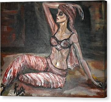 Danced All Nite Canvas Print by Laura Fatta
