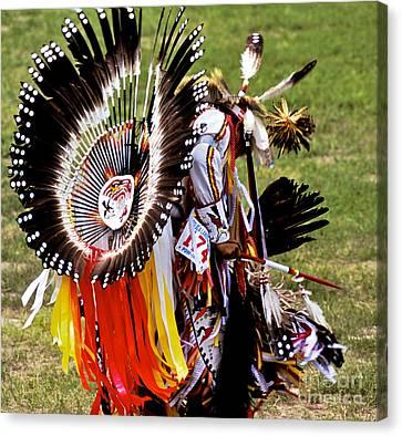 Crazy Horse Canvas Print - Dancer 174 by Chris Brewington Photography LLC