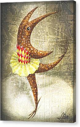 Dancer Canvas Print by Lolita Bronzini