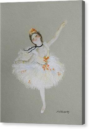 Dancer Canvas Print