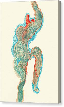 Dancer- #ss14dw023 Canvas Print by Satomi Sugimoto