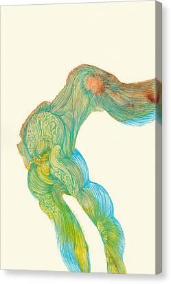 Dancer- #ss14dw039 Canvas Print by Satomi Sugimoto