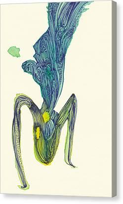 Dancer - #ss14dw045 Canvas Print by Satomi Sugimoto