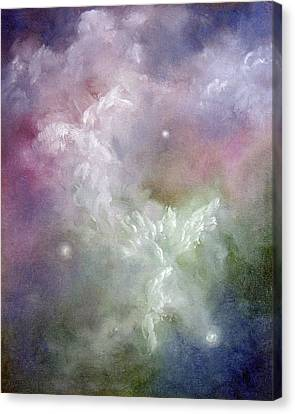 Dancing Angels Canvas Print by Marina Petro