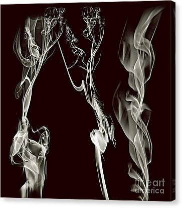 Clayton Canvas Print - Dancing Apparitions by Clayton Bruster