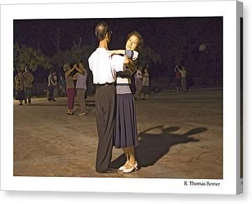 Dancing Couple Canvas Print