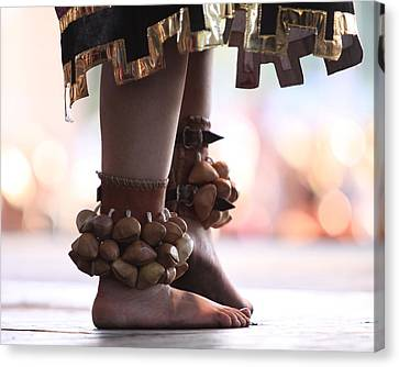 Dancing Feet Canvas Print by Kate Purdy